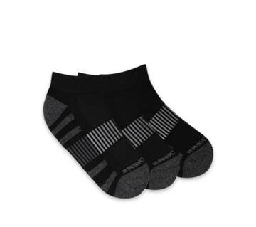 Women's 3 Pack Extended Crew Socks (Fits US 5-9.5 Shoe)
