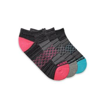 Women's 3 Pack Low Cut Socks (Fits US 5-9.5)