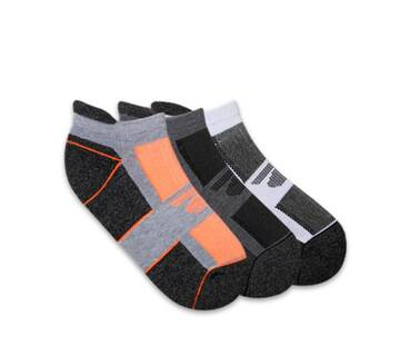 Men's 3 Pack 1/2 Low Cut Socks (Fits US 6-12 Shoe)
