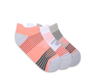 Women's 3 Packs 1/2 Terry Low Cut Socks (Fits US 5-9.5 Shoe)