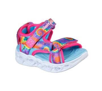 Infant Girl's S Lights: Heart Lights Sandal - Color Groove