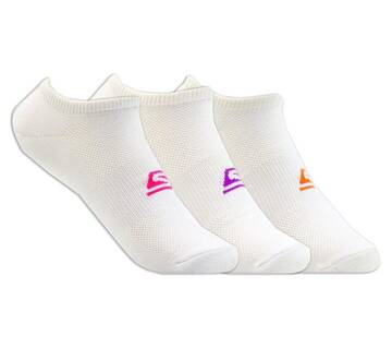Women's 3 Pack No Show Socks (Fits US 5-9.5 Shoe)