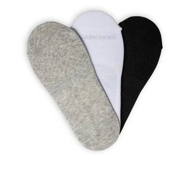 Men's 3 Pack Non-Terry Liner Socks (Fits US 6-12)